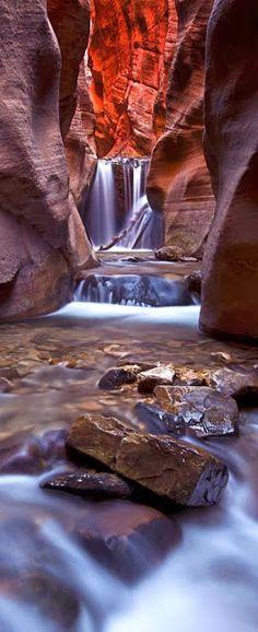 Upper Kanarra Falls ~ Kanarraville, Utah