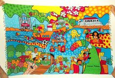 Cangas de Praia Verão 2014 - Guarujá Andreza Katsani - LIcenciado - Todos os direitos reservados Beach Quilt