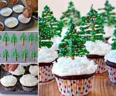 Christmas Tree Cupcakes The WHOot