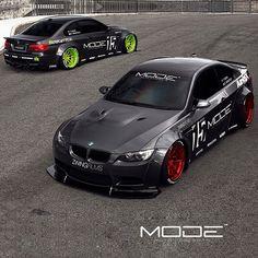 Liberty Walk BMW M3 Duo |  By @modeautoconcepts  0428-367-433  info@armytrix.com.au  Power. Sound. Innovation  @libertywalkkato  #armytrix #airrex #forgewheels #nextlevel #zwingfilms #libertywalk  #modeautoconcepts  Image: @jamesdeank