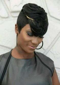 "Quick Weave Short Hairstyles Gorgeous Quick Weave …  Things ""…"