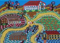 folk-art-town-kerri-ambrosino-gallery.jpg (900×642)