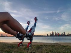 Experience Roller skiing in Perth  with @Cross.skating.australia #rollerski #justanotherdayinwa #rollerskiaustralia #skiaustralia #rollerskiperth #perthrollerski