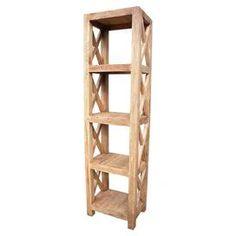 Promenade Teak Bookcase in Natural