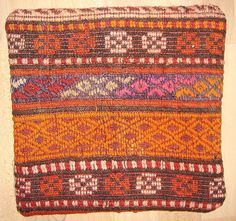 MODERN Bohemian Home DecorHandwoven Turkish Kilim by chicethnic, $15.00