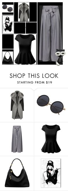 """""""un arco en el"""" by osiris-rojas ❤ liked on Polyvore featuring River Island, Michael Kors, Oliver Gal Artist Co. and Kate Marie"""