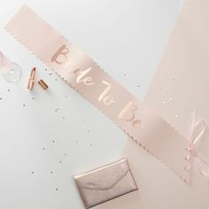 Ensure the Bride-to-be celebrates in style on her with this stunning 'Bride To Be' Sash. This unique sophisticated sash is different to any before. The pink pap