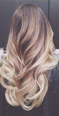 Blond long. Maxi Hair cabelo longo louro ombre