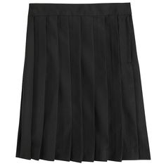 Girls 4-20 & Plus Size French Toast School Uniform Pleated Skirt, Black