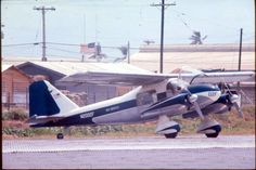 Air America's Dornier Do-28 at Can Tho, RVN