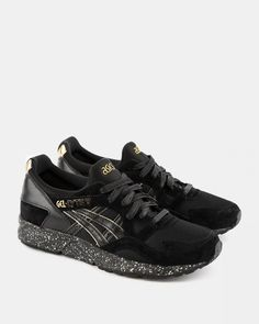 "atmos x Asics - Gel Lyte V ""Black & Gold"" - Asics - Brands"