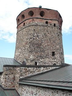 Free Image on Pixabay - Finnish, Olaf'S Castle, Tower Free Pictures, Free Images, Tower Castle, Around The Worlds, Manor Houses, Paris, Olaf, Building, Castles