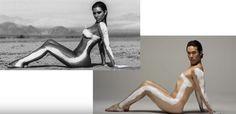 "Die Fotos dieser Männer werden nach ""Frauenideal"" retuschiert #News #Beauty"