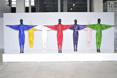 Net-a-porter Blends Art With Fashion - Slideshow - WWD.com Marina Abramovic's Energy Clothes