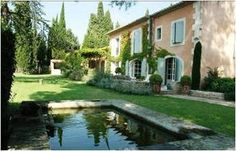 Rent a beautiful vacation home in St-Rémy-de-Provence, Provence, France. The Mas des Roseaux*, a private, five-bedroom, vacation rental in Provence, France, is set on one acre of beautiful, landscaped grounds.  http://www.rentalinprovence.com/ Rental In Provence