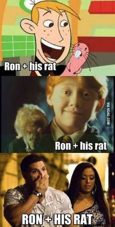 Ron and His Rat