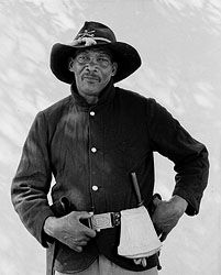 Buffalo Soldier -  Texas Parks and Wildlife African American History