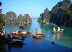 Halong Bay - Vietnam: one of the most wonderful place in the World
