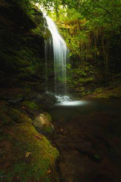 Waterfall in Cabuérniga - Cascadas en Cabuérniga- Cantabria- España