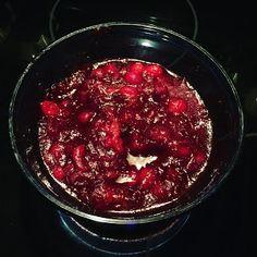 Hard Cider Cranberry Sauce
