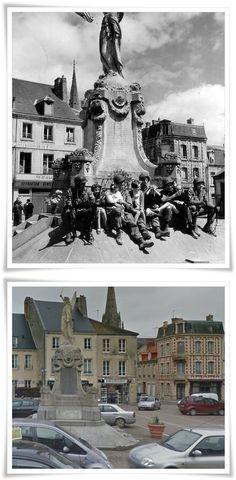 101st Airborne Division dopo aver preso      Carentan. 15 giugno 1944. #NORMANDIA1944