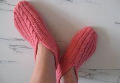 knitting slippers & socks tutorial | make handmade, crochet, craft