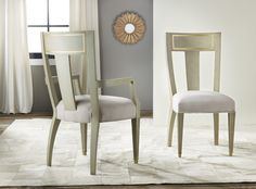 Interior HomeScapes offers the Gustavian Chair by Modern History. Visit our online store to order your Modern History products today. Traditional Chairs, Traditional Furniture, Contemporary Furniture, Modern Contemporary, Furniture Styles, Quality Furniture, Furniture Design, Dining Room Chairs, Side Chairs