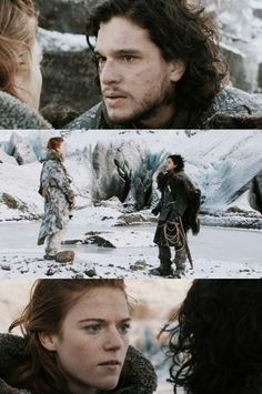 Game of thrones:Jon and ygritte one of the most awesome couples in game of thrones!!!!;)