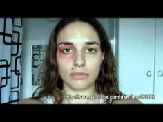 Stare Into Her Eyes — Now Watch One Year In An Abusive Relationship Happen In One Minute Let's take a moment to stare the problem of domestic abuse in the face.