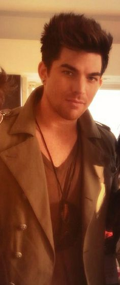Adam Lambert  He looks so different here and young!  He is awesome!