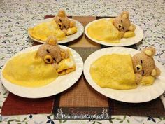 Пасхальный стол детям, Пасхальные блюда для детей, Украшение детского Пасхального стола (6)