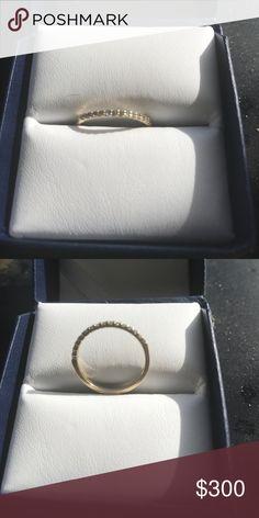Spotted while shopping on Poshmark: 14K diamond and gold band! #poshmark #fashion #shopping #style #Jewelry