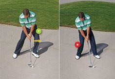 Expert Golf Tips For Beginners Of The Game. Golf is enjoyed by many worldwide, and it is not a sport that is limited to one particular age group. Not many things can beat being out on a golf course o Golf Club Grips, Golf Trolley, Golf Putting Tips, Golf Practice, Golf Chipping, Chipping Tips, Golf Videos, Golf Instruction, Golf Exercises