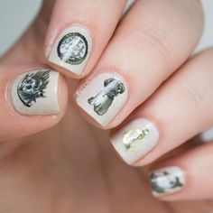 Abandon Ship Nailcals by @thesammersaurus