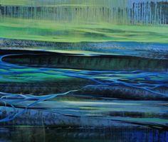 "Saatchi Art Artist Katsiaryna Sumarava; Painting, ""Spring energy"" #art"