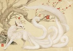 White fox demon