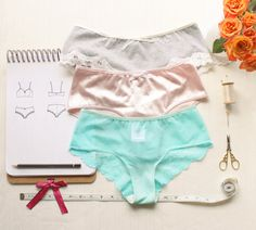 Lingerie Panties Sewing Pattern Ohhh Lulu 1303 by OhhhLuluSews