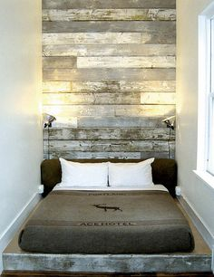 rustic wall panel, for either accent wall