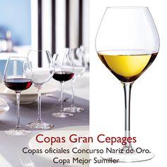 ¿Conoces las copas que utilizan los mejores sumilleres de España?