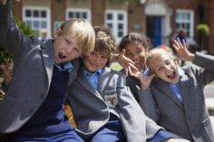 The Affixxius Academic team on location with Hornsby House School.