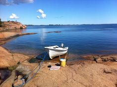 Picnic time on an Island in Picnic Time, Archipelago, Beautiful Islands, Finland, Mother Nature, Kayaking, Rio, To Go, Creative