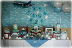 Hostess with the Mostess® - How Time Flies - Airplane Themed 1st Birthday