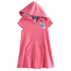 ffed258b62260 Disney   Pixar Finding Dory Toddler Girl French Terry Hooded Cover-Up by Jumping  Beans®