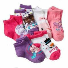 Disney Doc McStuffins Little Girls' Socks Little Girl Fashion, My Little Girl, My Beautiful Daughter, To My Daughter, Doc Mcstuffins Outfit, Girls Rolling Backpack, Toddler Outfits, Kids Outfits