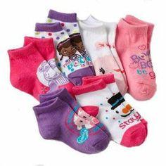 Disney Doc McStuffins Little Girls' Socks