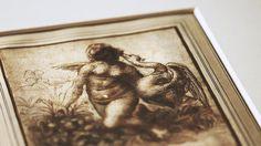 Episode Leonardo Da Vinci's Drawing of Leda and the Swan Museum, Statue, Episode 3, Drawings, Swan, Art, Dibujo, Swans, Diy Ideas For Home