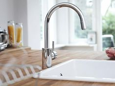 Pantry Prep Sink - Grohe Concetto small bar faucet