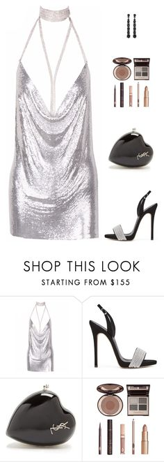 """Untitled #5356"" by mdmsb on Polyvore featuring Yves Saint Laurent, Charlotte Tilbury and Simone Rocha"