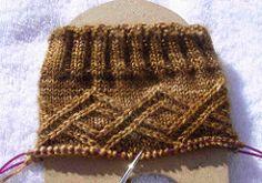Ravelry: lstichweh's Solid Socks Jan-Feb Mystery, knit in Zen Yarn Garden HARMONY Semi-Solid Sock