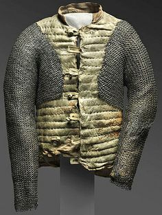 Arming-doublet, from the Philadelphia Museum of Art. Does not seem to have been originally configured in this manner.